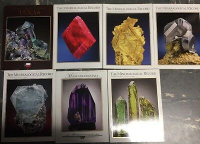 7 MINERALOGICAL RECORD: PRIVATE COLLECTIONS Complete Year Jan-Dec 2009 + TEXAS