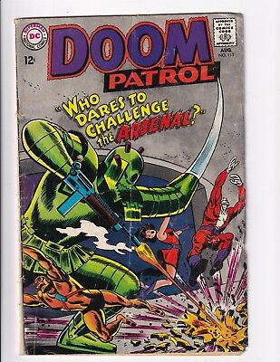 The Doom Patrol #113 (Aug 1967, DC)