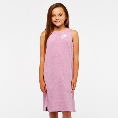 Nike Nsw  Tech Fleece Girls Dress Bnwt Size 12-13 Years
