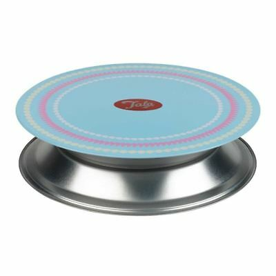 Icing Turntable 23cm Rotating Cake Decorating Revolving Kitchen Display Stand