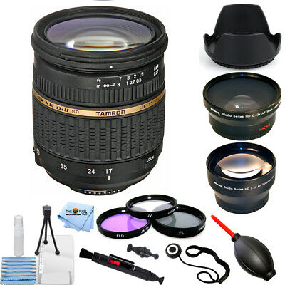 Tamron SP AF 17-50mm f/2.8 XR Di II LD Aspherical [IF] Lens for Nikon PRO BUNDLE