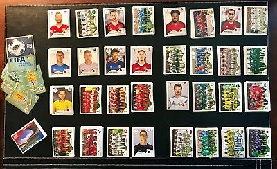 2018 Panini Russia FIFA World Cup Stickers, Singles. NEW. Pick 10. Free shipping