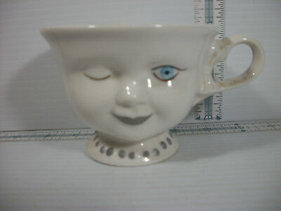 Limited Edition Baileys Helen Hunt Signed Winking Girl Mug Cup Los Angeles Youth