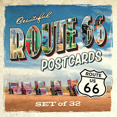 Route 66 Postcards | Set of 32 | 4x6