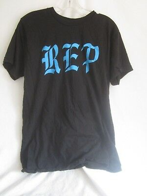Taylor Swift Now Reputation Rep Promo T Shirt AT & T Black Size M Unisex (LK)