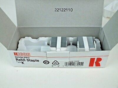 New Ricoh PPC Refill Staple Type K NO.502R-AM (2 of 3 Cartridges)