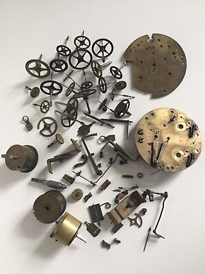 Parts For Repair For French Mechanical Move Clocks