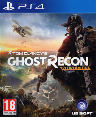 Brand New Sealed Tom Clancy's Ghost Recon Wildlands PlayStation 4 PS4