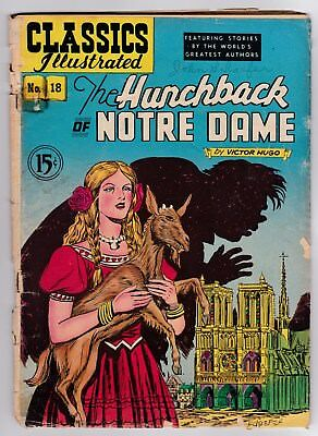 Classics Illustrated # 18 (HRN 78) The Hunchback of Notre Dame