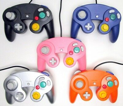 New Controller for Nintendo GameCube Video Game Console (Multiple Colors)