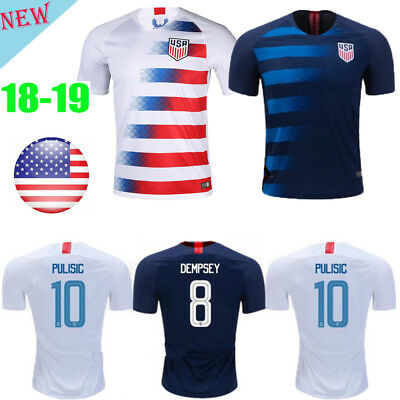 18/19 World Cup Home Away Kit Football Soccer Shirt for 3-14Y Kids Sport Outfits