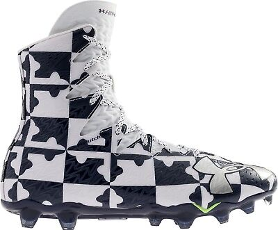 UNDER ARMOUR HIGHLIGHT RM cleats/JR lacrosse 1278779-111 Youth sz 1Y new nwt