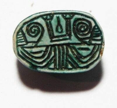 Zurqieh - As5744- Ancient Egypt,  Stone Scarab. New Kingdom .1400 B.c