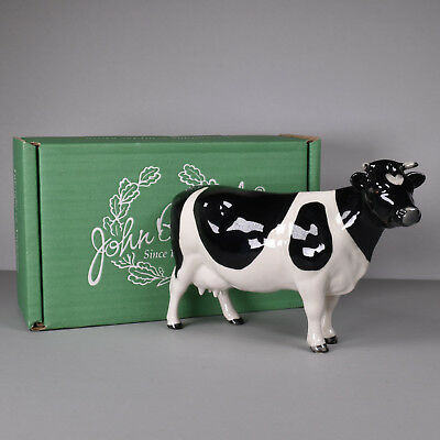 Beswick England Fresian Cow Clayburg Leegwater Great Condition Gloss Finish BOX