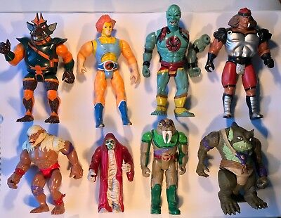 Vintage Thundercats Lot 1980's LJN Action Figures Sword Omens Liono Panthro