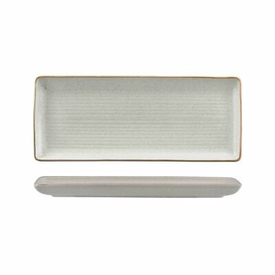 6x Share Platter 335x140mm Plate Zuma Mineral White Commercial Crockery Cafe