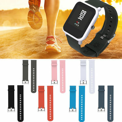 Silicone Sports Band Strap for Xiaomi Huami Amazfit Bip Youth Smart Watch