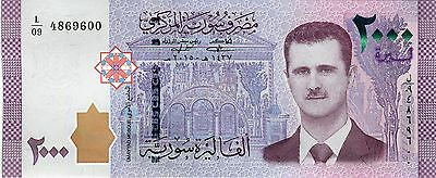 New !!! Syria 2017, 2000 pounds !!! UNC ...600