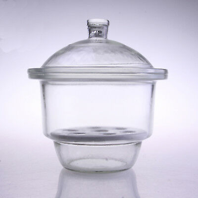 1pc 210mm Lab ordinary glass  desiccator jar dryer