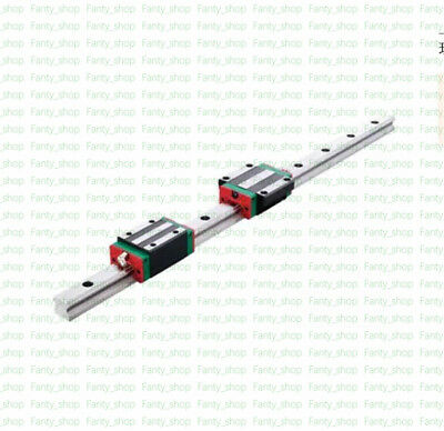 L1200mm HGR25 Linear Rail Guide+2pc HGH25CA Block CNC Kit Replace for HIWIN VF20