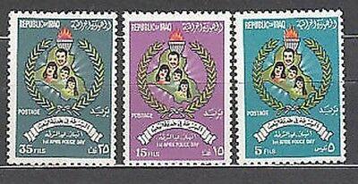 Iraq - Mail Yvert 791/3 Mnh Day of the police