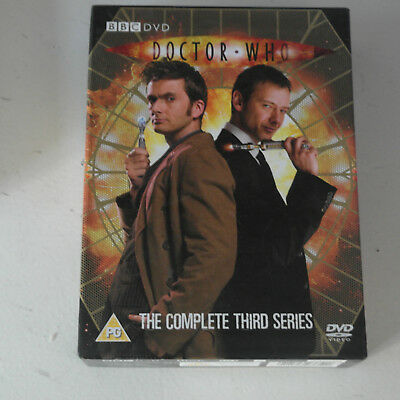 DVD Doctor Who - Series 3 - Complete (DVD, 2007, 6-Disc Set, Box Set)