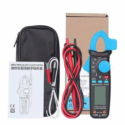 AC/DC Clamp Meter 6000 Counts Current Frequency Temperature Bside ACM91 TRMS