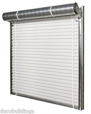"DuroSTORAGE 3'8""x7' 850 Series FL HURRICANE CERTIFIED Steel Roll-up Door DiRECT"