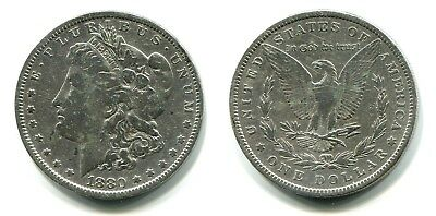 Morgan Dollar USA 1880 Silber