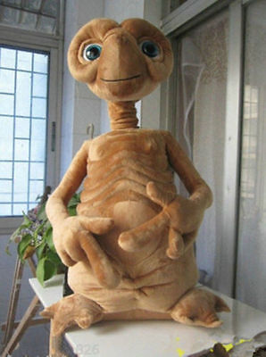 CUTE ET EXTRA TERRESTRIAL plush toy big ET Doll 45CM