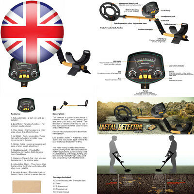 SHUOGOU MD3009II Underground Advanced Discriminating Metal Detector with LCD...