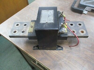 Westinghouse Type PA Current Transformer 1066596B Ratio 1200:5A 1200V 60Hz Used