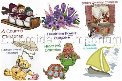**special Offer** Choose Any 5 Design Sets - Machine Embroidery Designs On 5 Cds