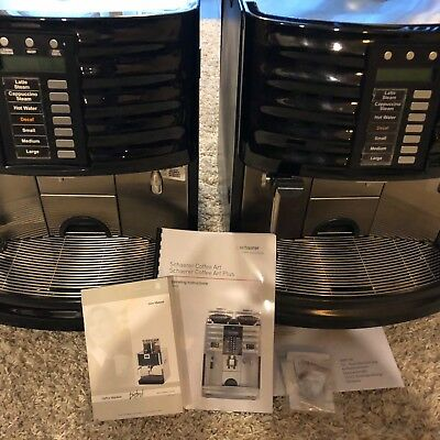TWO (2) Expresso Machines Coffee Art Plus