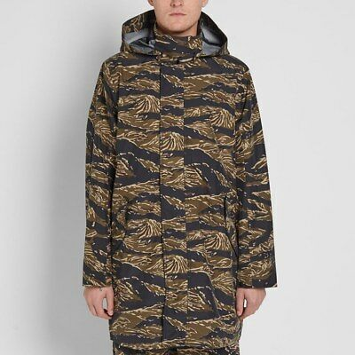 NikeLab Tiger Camo Parka - XXL- 916430-235 Long Fish Tail Jacket Hood Hooded c1986051612