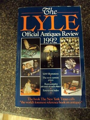 The Lyle Antiques Review Reference Book  - 1992