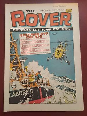 The Rover Comic - July 1st 1972 - The Star Story Paper for Boys #B2140