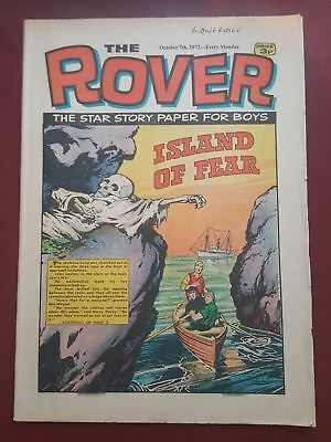 The Rover Comic - October 7th 1972 - The Star Story Paper for Boys #B2129