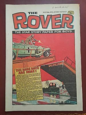 The Rover Comic - July 8th 1972 - The Star Story Paper for Boys #B2139