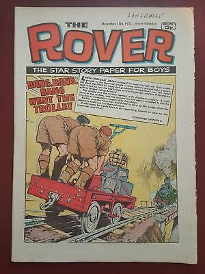 The Rover Comic - December 11th 1971 - The Star Story Paper for Boys #B2171