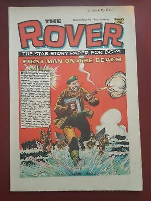 The Rover Comic - March 25th 1972 - The Star Story Paper for Boys #B2165