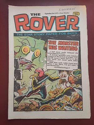 The Rover Comic - September 2nd 1972 - The Star Story Paper for Boys #B2169