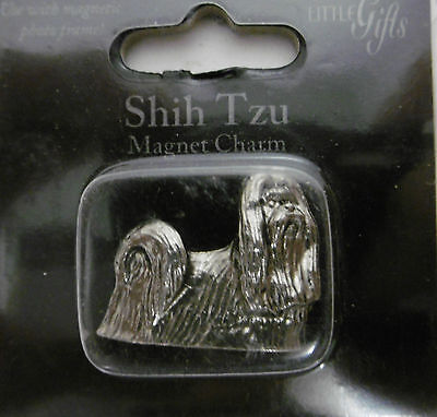 "Little Gifts ""SHIH TZU""  Magnetic Charm Use With Magnet Photo Frame"