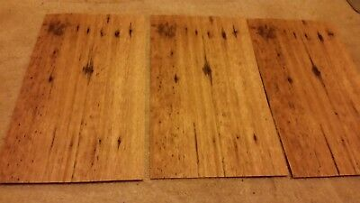Spotted Gum Timber Veneer 310 x 190 x 3 sheets