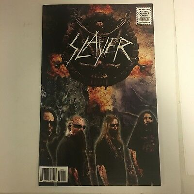 SLAYER Rock & Roll Biographies #1 RARE Heavy Metal Band Comic Book 2015 Acme 1st