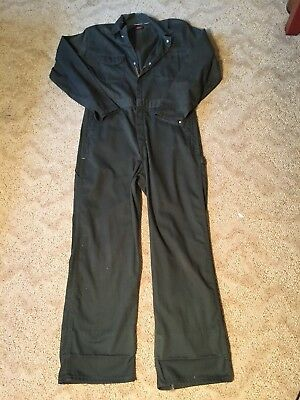 Vintage Men's Wrangler Big Ben Green Coveralls Size M (38w 31L) Made in USA.