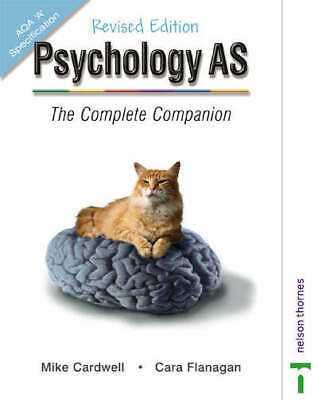 Psychology AS: the complete companion by Mike Cardwell (Paperback) Amazing Value