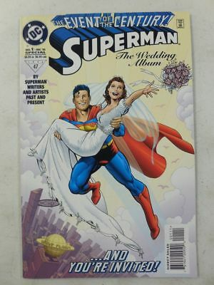 1996 DC SUPERMAN WEDDING Comic  MARRIES LOIS LANE Event of the Century NM/UNREAD