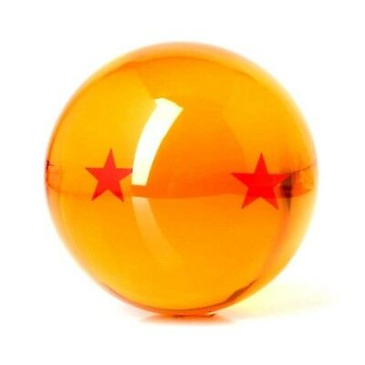 Acrylic Dragonball Replica Ball (Large/2 Stars) multi-colored Free New