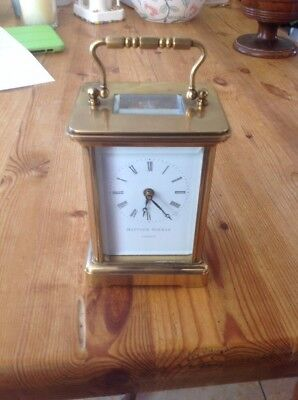 Mathew Norman Carriage  Clock